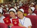 成都卫生学校参加全国护理专业技能大赛
