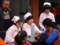 中医药大学针灸学校龙泉校区学生义诊
