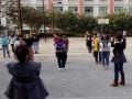 四川卫生康复职业学院课间训练