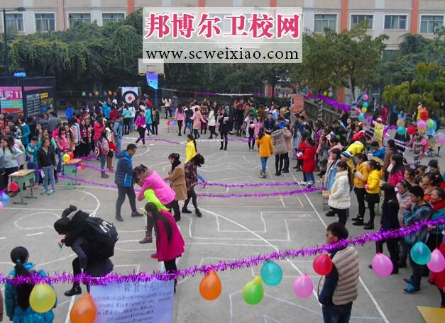 四川卫生康复学院第二届心理趣味运动会圆满结束