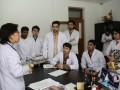 哈尔滨医大外国留学生进行临床实习
