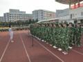 宁波卫校新生军训