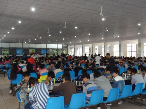 武汉市第二卫生学校食堂情况