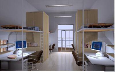 正文  北京中医药大学东方学院宿舍条件 学校宿舍有六人间和八人间图片