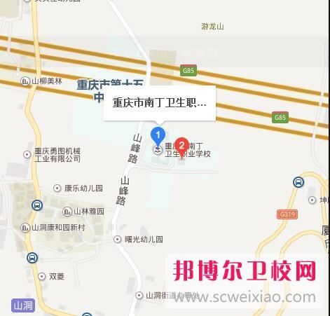重庆南丁卫生职业学校地址在哪里