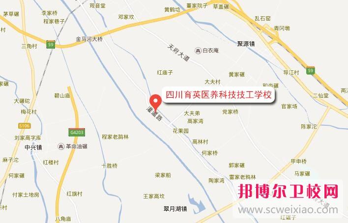 四川育英医养科技技工学校地址在哪里