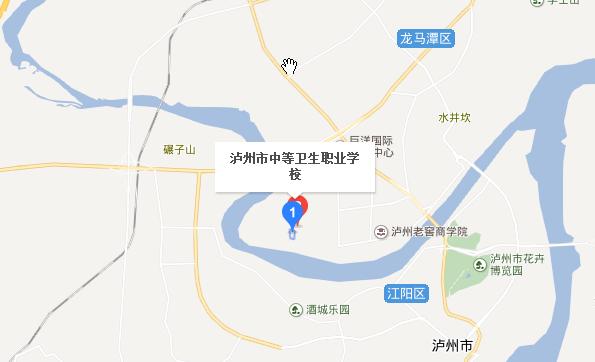 泸州中等卫生职业学校地址在哪里