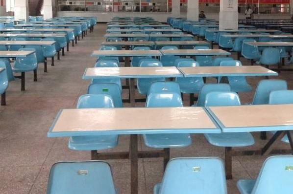 新都区中等卫生职业学校食堂情况