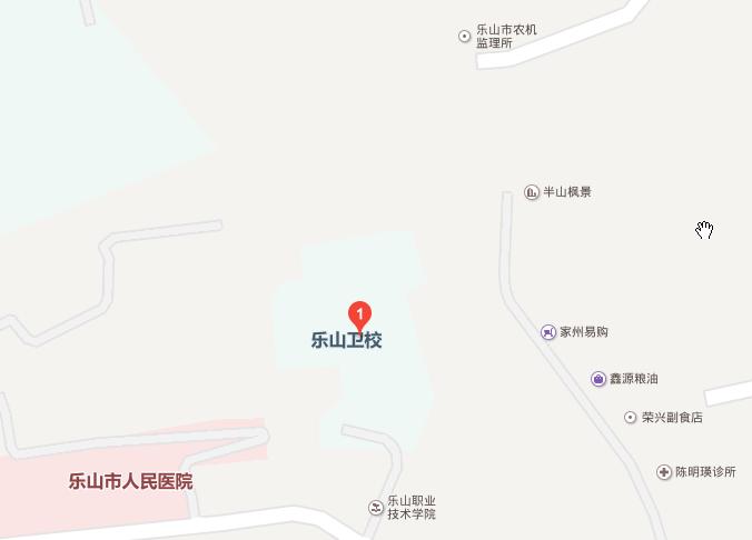 四川省乐山卫生学校地址在哪里