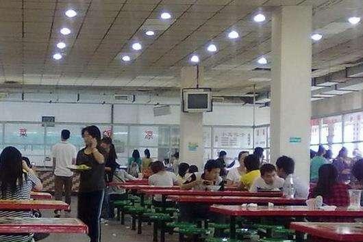 南京医药中等专业学校食堂环境