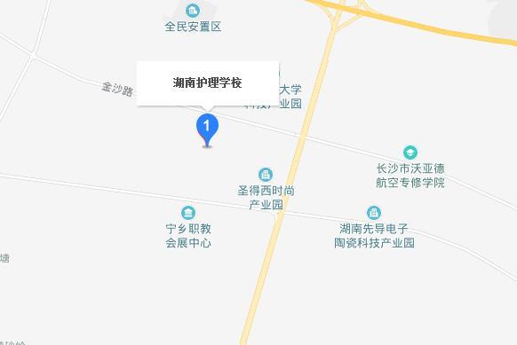 湖南护理学校地址在哪里
