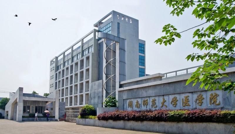 湖南师范大学医学院2019年有哪些专业