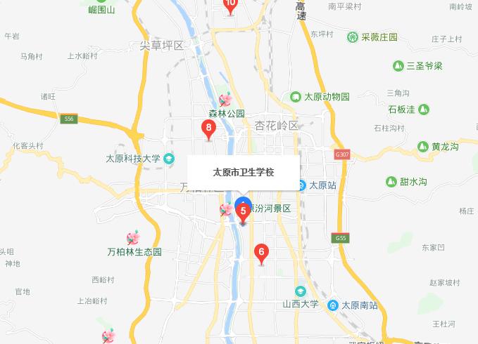 太原市卫生学校2019年地址在哪里