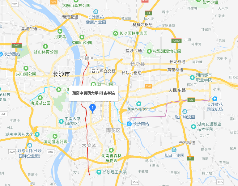 湖南中医药大学湘杏学院2019年地址在哪里