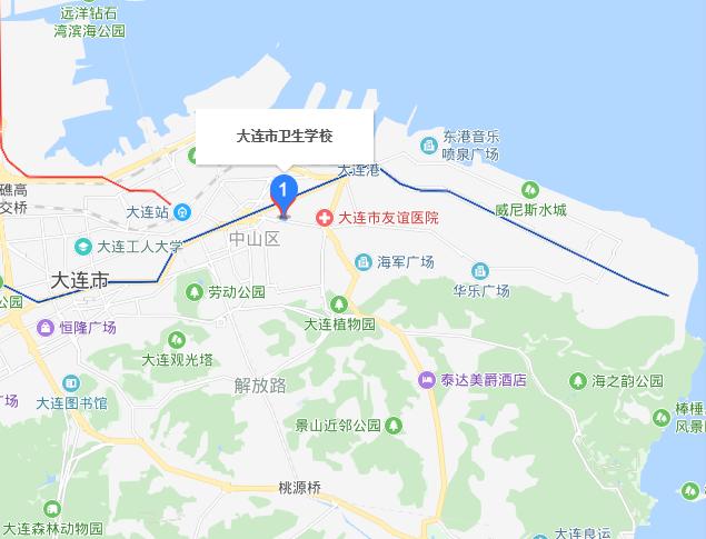 大连铁路卫生学校2019年地址在哪里