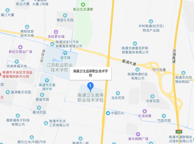 南通体臣卫生学校2019年地址在哪里