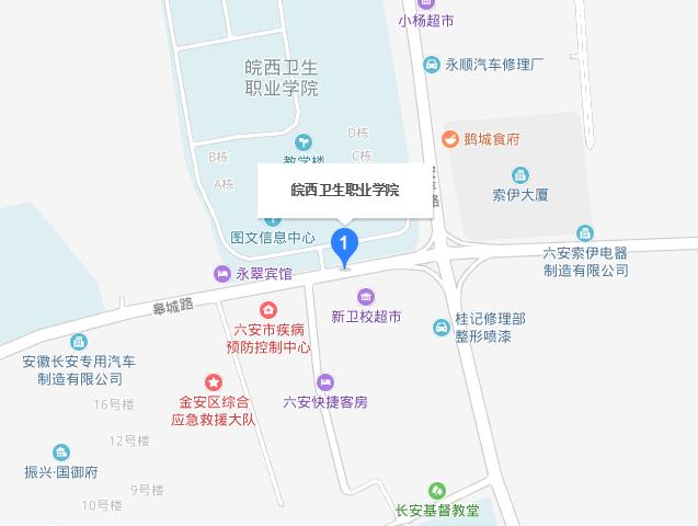 六安卫生学校2019年地址在哪里