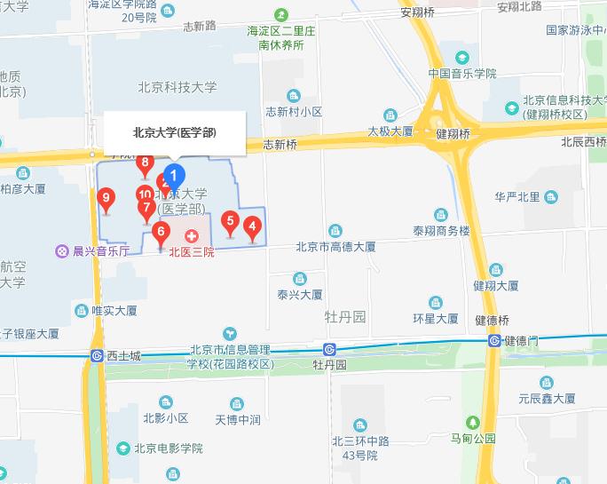 北京大学医学部地址在哪里