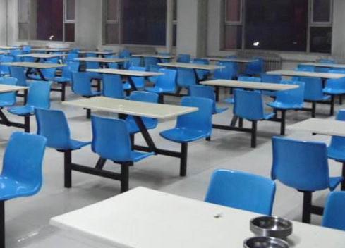 核工业卫生学校食堂情况