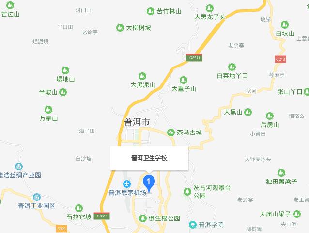 云南省普洱卫生学校地址在哪里