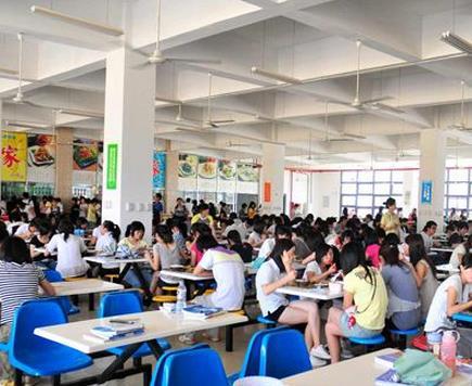 青岛第二卫生学校食堂情况