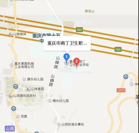 重庆南丁卫生学校地址在哪里