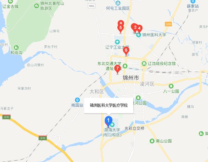 锦州医科大学医疗学院地址在哪里