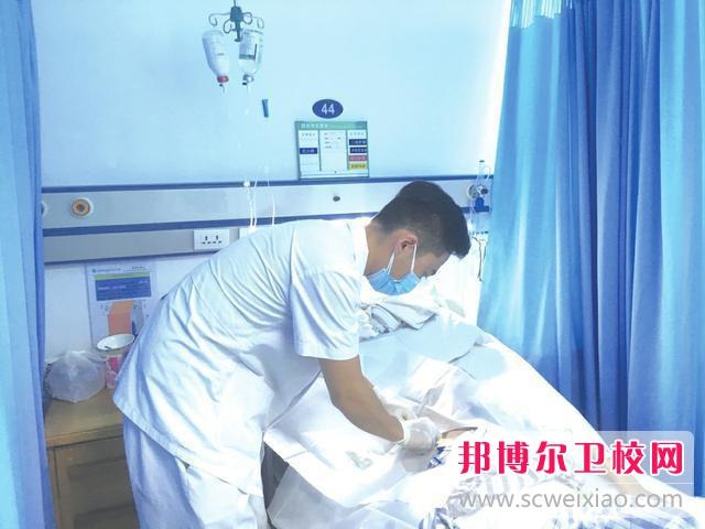 惠州2021年男生读卫校有前途吗